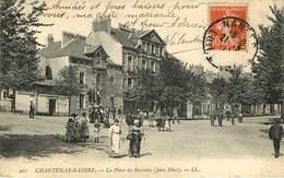 Dép 44 - Nantes - Chantenay Sur Loire - Place Du Rebondu ( Jean Macé ) - état - Nantes