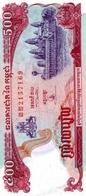 Cambodge 500 Riels 1996 UNC - Cambogia