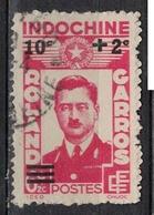 INDOCHINE          N°  YVERT   277     OBLITERE       ( O   3/47 ) - Indochine (1889-1945)