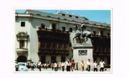 Monument To FRancisco Pizzarro,fundador Da Lima,Peru.Volkswagen Coccinelle. - Pérou