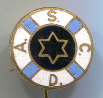 Water Polo / Wasserball - A.S.C.D., Duisburg, Germany, Enamel, Vintage Pin, Badge, Abzeichen - Water Polo