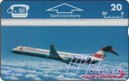 """TWK Österreich Privat: """"AUA - DC9"""" Gebr. - Oesterreich"""