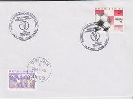 CROATIE, Coupe Du Monde De Football, Matche De Qualification Croatie-Lettonie 2001, World Cup Soccer 2002 - Wereldkampioenschap