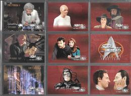 BF98 - SERIE COMPLETE CARTES STAR TREK VOYAGER - SEASON SIX - CARTES 529 à 636 - Star Trek