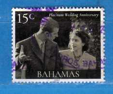 (Us3) ) BAHAMAS ° 2017 - NOCE PLATINUM WEDDING ANNIVERSARY . Usato  Vedi Descrizione. - Bahamas (1973-...)