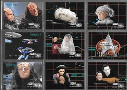 BF97 - SERIE COMPLETE CARTES STAR TREK VOYAGER - SEASON FIVE - CARTES 421 à 528 - Star Trek