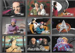 BF96 - SERIE COMPLETE CARTES STAR TREK VOYAGER - SEASON FOUR- CARTES 314 à 420 - Star Trek