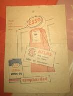 Facture D'un Garage ESSO, Suède, 1958. TBE ! - Invoices & Commercial Documents