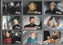 BF99 - SERIE COMPLETE CARTES STAR TREK VOYAGER - SEASON SEVEN - CARTES 637 à 738 - Star Trek