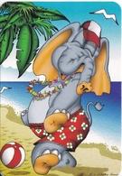 CALENDARIO DEL AÑO 2005 DE UN ELEFANTE (CALENDRIER-CALENDAR) ELEPHANT - Tamaño Pequeño : 2001-...