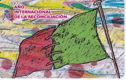 CALENDARIO DEL AÑO 2009 DE AÑO INTERNACIONAL DE LA RECONCILIACIÓN FABRICA MONEDA Y TIMBRE  (CALENDRIER-CALENDAR) - Tamaño Pequeño : 2001-...