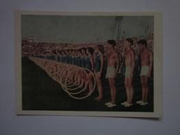 USSR Moscow Sport Parade 1954 - Cartoline
