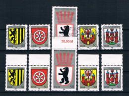 DDR 1983 Wappen Mi.Nr. 2817/21 Kpl. Satz ** + Gestempelt - Neufs