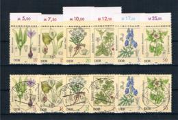DDR 1982 Giftpflanzen Mi.Nr. 2691/96 Kpl. Satz ** + Gestempelt - Neufs