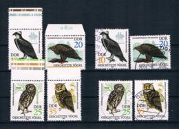 DDR 1982 Vögel Mi.Nr. 2702/05 Kpl. Satz ** + Gestempelt - Neufs