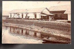 Netherlands Indies  GENUINE PHOTO 'Kooimuur At The Harbor Of Belawan'  ± 1895  (NI-17-25) - Indonesië