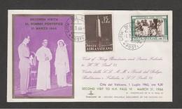 Vaticano - 31/3/1966  1963 E 1/7/ 1966  SS Paolo VI Riceve Re Baldovino Del Belgio Con La Consorte Fabiola - Papi