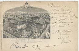 Overijse - Overyssche - Institut Du Sacré-coeur - Pensionnat Dirrigé Par Les Soeurs De L'Immaculée Conception - 1902 - Overijse