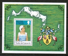 TURKS & CAICOS ISLANDS   Scott # 324** VF MINT NH Souvenir Sheet SS-365 - Turks And Caicos