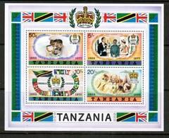 TANZANIA   Scott # 90a** VF MINT NH Souvenir Sheet SS-366 - Tanzania (1964-...)