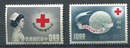 Taiwan ** N° 498/499 - Croix Rouge - Red Cross