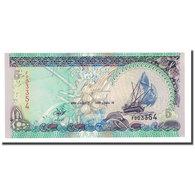 Billet, Maldives, 5 Rufiyaa, 2000, KM:18b, NEUF - Maldives