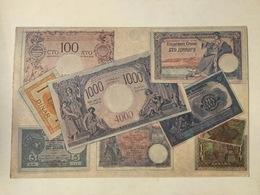 AK  PAPER MONEY POSTCARD  YUGOSLAVIA  DINAR  DINARI  1923 - Münzen (Abb.)