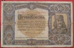 50 / Ötven Korona 1920 (WPM 62) - Hungary