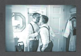 COUPLE GAY - GARDEN RICHMOND VA.      MARIAGE DE JOE & ADAM - Couples