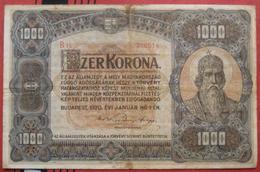 1000 / Ezer Korona 1920 (WPM 66) - Hongrie