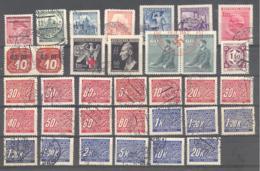 Bohmen Und Mahren  Kleine Sammlung O - Occupation 1938-45