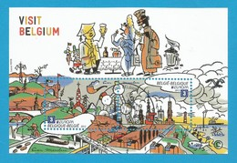 Belgien   2012  Mi.Nr. Block 166 (4263/63) , EUROPA CEPT Visite / Besuche - Gestempelt / Used / (o) - Europa-CEPT