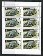 TANZANIA  Scott # 263-6** VF MINT NH Miniature Sheets Of 8 SS-370 - Tanzania (1964-...)