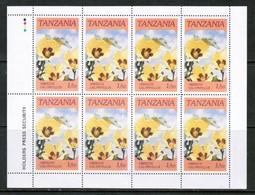 TANZANIA  Scott # 315-8** VF MINT NH Miniature Sheets Of 8 SS-371 - Tanzania (1964-...)