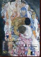 44320 Austria, Maximum 2018 Painting Of Gustav Klimt,life And Death,art Nouveau,liberty,jugendstil, Modern Style - Maximumkarten (MC)