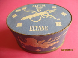 Maquillage/Boite De Poudre De Riz/KLYTIA/Institut De Beauté/Place Vendôme/Paris/Poudre Elyane/Vers 1930-50       PARF191 - Kosmetika