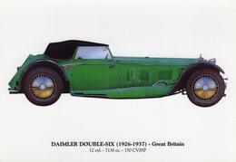 Daimler Double-Six   -  1926-1937  -  Carte Postale - Voitures De Tourisme
