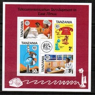 TANZANIA  Scott # 57a** VF MINT NH Souvenir Sheet SS-376 - Tanzania (1964-...)