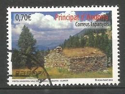 Andorra Spanische Post  2012  Mi.Nr. 389 , EUROPA CEPT Visite / Besuche - Postfrisch / MNH / (**) - Europa-CEPT