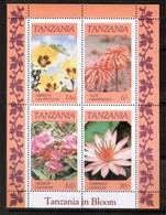 TANZANIA  Scott # 318a** VF MINT NH Souvenir Sheet SS-377 - Tanzania (1964-...)