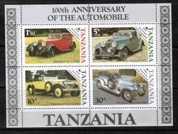 TANZANIA  Scott # 266a** VF MINT NH Souvenir Sheet SS-379 - Tanzania (1964-...)