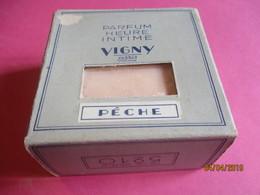 Maquillage/Boite De Poudre De Riz/VIGNY/Paris / Poudre Insolée/Parfum Heure Intime/Pêche/Vers 1930-50       PARF192 - Beauty Products