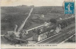 D29 - LA ROCHE MAURICE - VUE SUR LA VALLEE DE L'ELORN - Ligne De Chemin De Feer - Pont - La Roche-Maurice