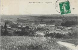 D55 - MONTIERS SUR SAULX - VUE GENERALE - Montiers Sur Saulx
