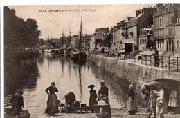 Quimper 1907 - Le Port & Le Quai - N° 3879 - Quimper