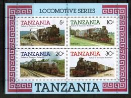 TANZANIA  Scott # 274a** VF MINT NH Souvenir Sheet SS-381 - Tanzania (1964-...)