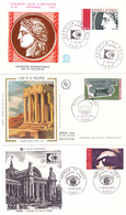ARPHILA 75 PARIS - Lot De 9 Enveloppes Et 3 Cartes Postales - A Voir - Cartes-Maximum