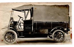Photo Auto Camionnette DE DION BOUTON. P.MOREL Orfévre Paris. - Automobile