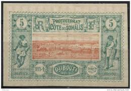 Cote Des Somalis N°9 * - Zonder Classificatie