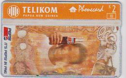 #05 - PEPSI COLA-12 - PAPUA NEW GUINEA - SHELL - Phonecards